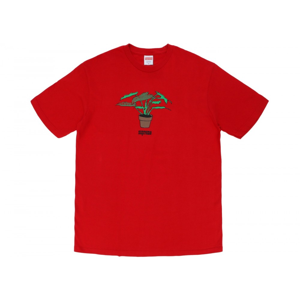 FW18 Supreme Plant Tee Red