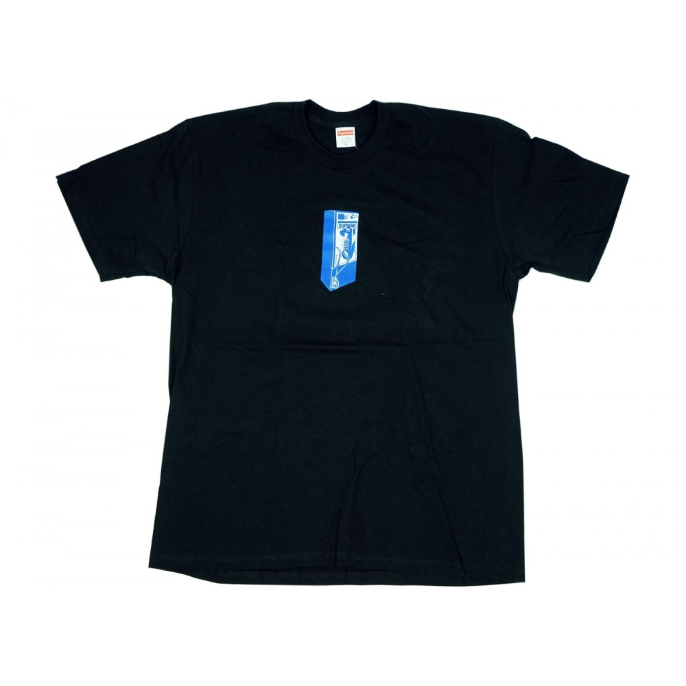 FW18 Supreme Payphone Tee Black