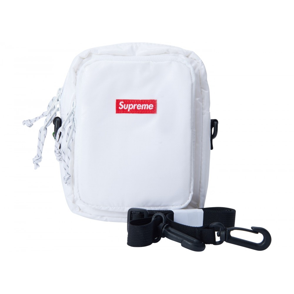 FW18 Supreme Shoulder Bag White