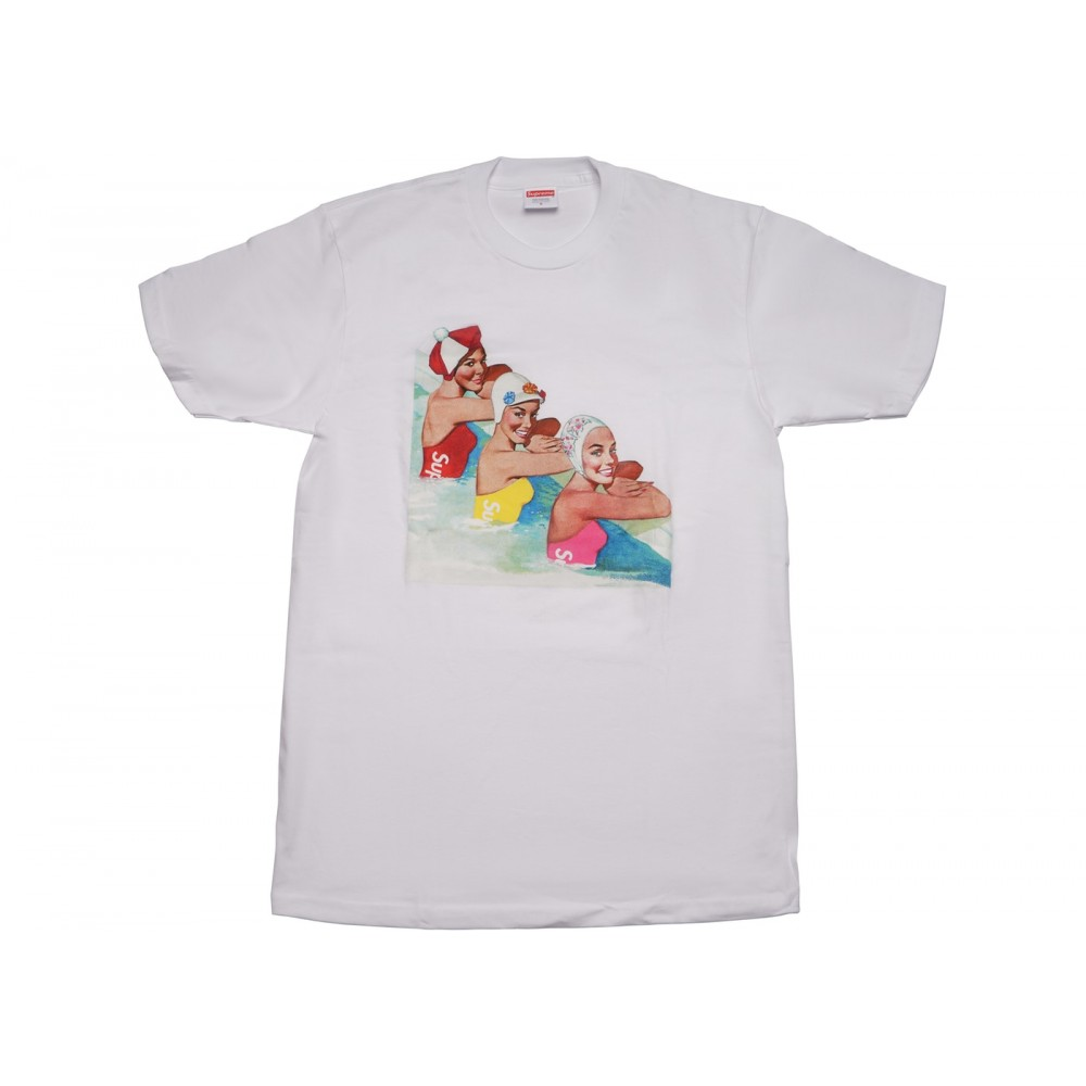 FW18 Supreme Swimmers Tee White