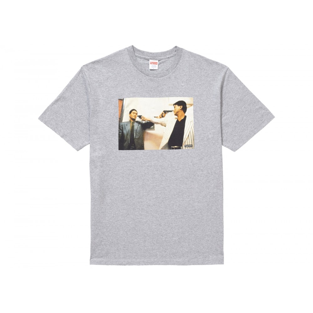 FW18 Supreme The Killer Trust Tee Heather Grey