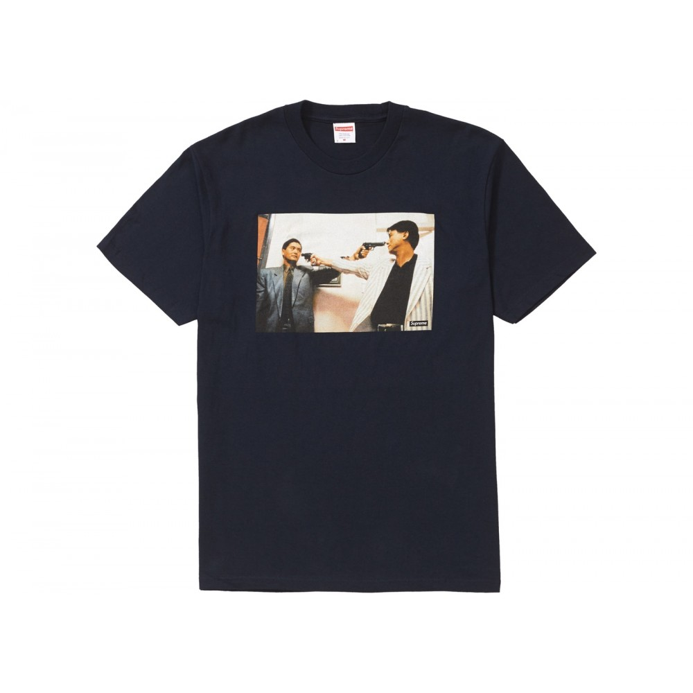 FW18 Supreme The Killer Trust Tee Navy