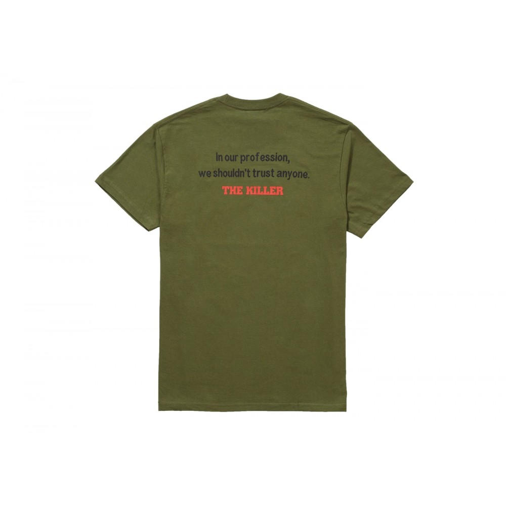 FW18 Supreme The Killer Trust Tee Olive