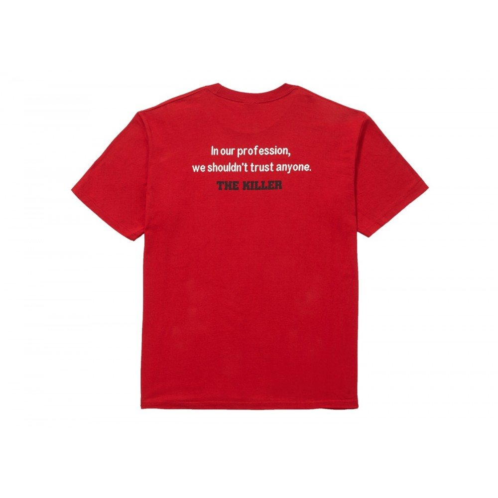FW18 Supreme The Killer Trust Tee Red