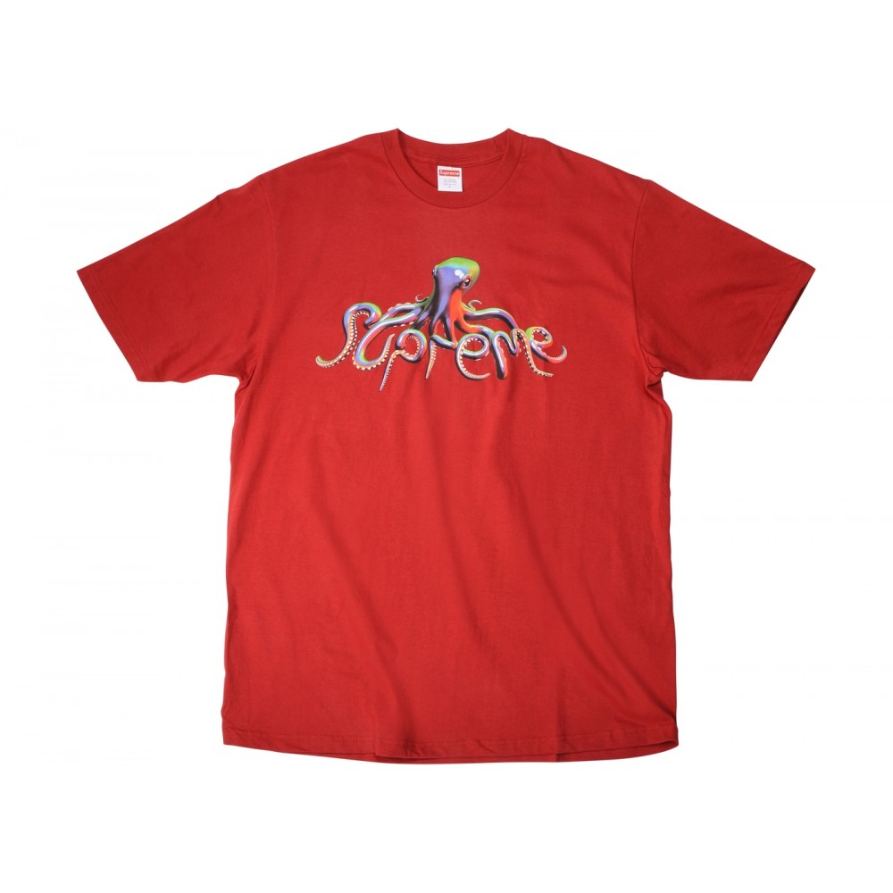 FW18 Supreme Tentacles Tee Brick