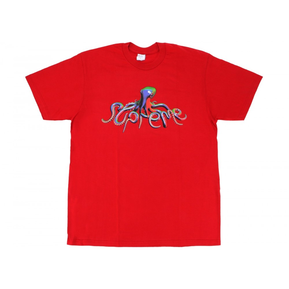 FW18 Supreme Tentacles Tee Red