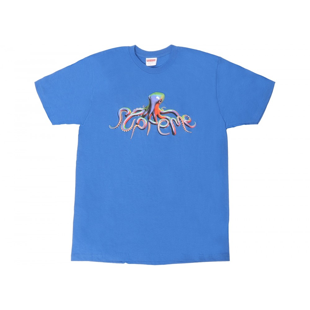 FW18 Supreme Tentacles Tee Royal