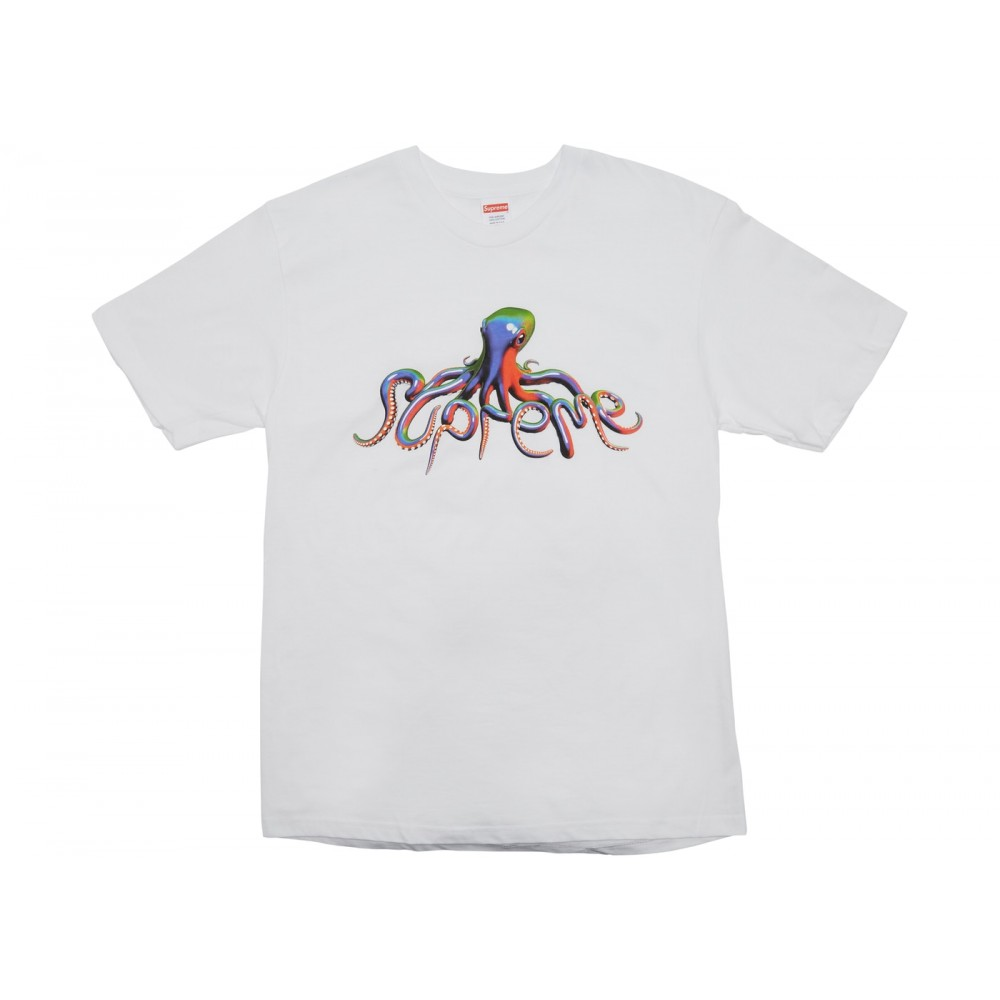 FW18 Supreme Tentacles Tee White