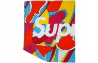 FW18 Supreme Abstract Beach Towel Red