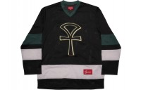 FW18 Supreme Ankh Hockey Jersey Black