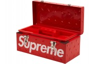 FW18 Supreme Diamond Plate Tool Box Red