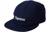 FW18 Supreme Featherweight Wool Camp Cap (FW17) Navy