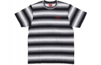 FW18 Supreme Gradient Striped S/S Top Black