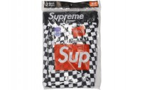 FW18 Supreme Hanes Boxer Briefs (2 Pack) Checkered