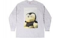 FW18 Supreme Mike Kelley AhhYouth! L/S Tee Ash Grey