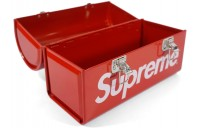 FW18 Supreme Metal Lunch Box Red