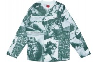 FW18 Supreme Michelangelo L/S Top Green