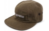 FW18 Supreme Napped Canvas Camp Cap Olive
