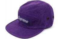 FW18 Supreme Napped Canvas Camp Cap Purple