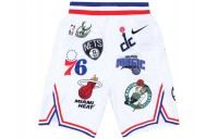 FW18 Supreme Nike/NBA Teams Authentic Short White