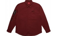FW18 Supreme Rose LS Work Shirt Dusty Red