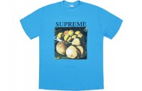 FW18 Supreme Still Life Tee Bright Blue