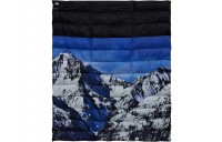FW18 Supreme The North Face Mountain Nupste Blanket Blue/White