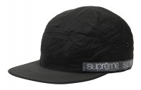 FW18 Supreme Tonal Taping Camp Cap Black