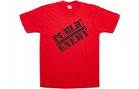 FW18 Supreme UNDERCOVER/Public Enemy Tee Red