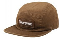 FW18 Supreme Washed Chino Twill Camp Cap (FW18) Moss