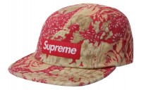 FW18 Supreme Washed Chino Twill Camp Cap (SS18) Floral