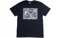 FW18 Supreme Faces Tee Navy