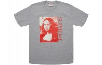 FW18 Supreme Mona Lisa Tee Heather Grey