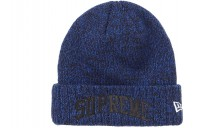FW18 Supreme New Era Arc Logo Beanie Royal