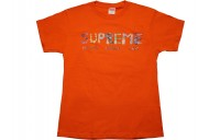 FW18 Supreme Rocks Tee Orange