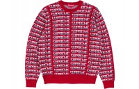 FW18 Supreme Repeat Sweater Red