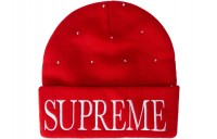 FW18 Supreme Studded Beanie Red