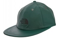 FW18 Supreme The North Face Leather 6-Panel Dark Green