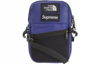 FW18 Supreme The North Face Leather Shoulder Bag Royal