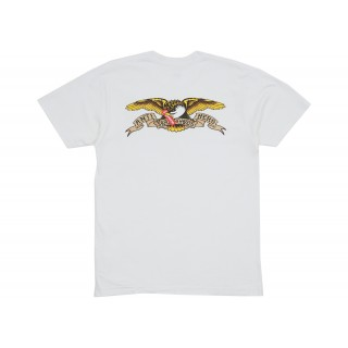 FW18 Supreme Anti Hero Eagle Pocket Tee White