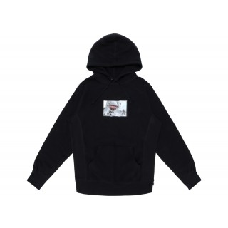 FW18 Supreme Astronaut Hooded Pullover Black