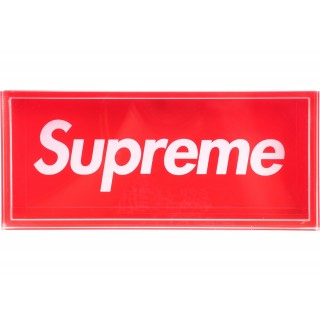 FW18 Supreme Acrylic Lucite Box Red