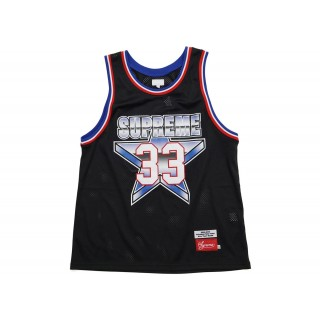 FW18 Supreme All Star Basketball Jersey Black