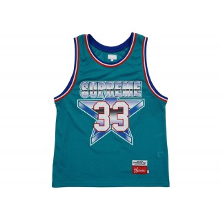 FW18 Supreme All Star Basketball Jersey Teal