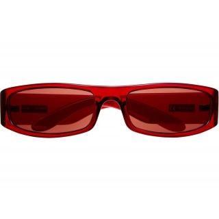FW18 Supreme Astro Sunglasses Clear Red