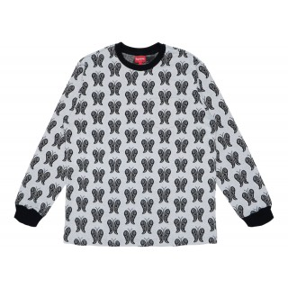 FW18 Supreme Butterfly Jacquard Top Black