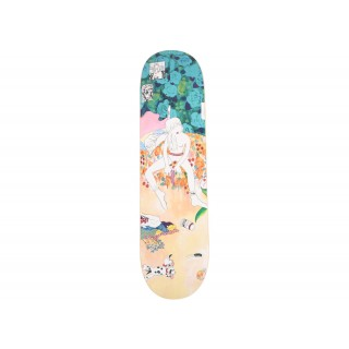 FW18 Supreme Bedroom Skateboard Deck Multi