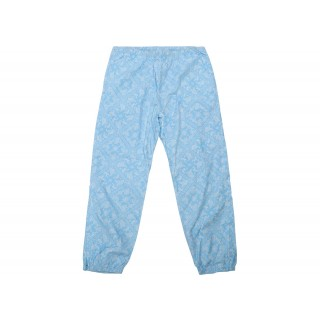 FW18 Supreme Bandana Track Pant Light Blue