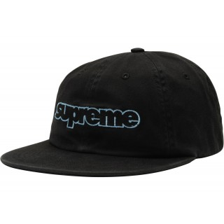 FW18 Supreme Connect 6-Panel Black