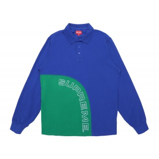 FW18 Supreme Corner Arc Half Zip Pullover Royal
